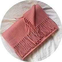 Women European Shawl Wool Winter Man Scarves Wool Stole Pashmina Tassles Blankt Scarf