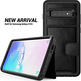 Galaxy S10e Wallet Case, ZERMU Durable Premium PU Leather Shockproof Leather Back Cover?Folio Flip Wallet Protective Defender with Card Slot [Compatible with Magnetic car Mount]for Samsung Galaxy S10e