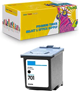 New York TonerTM New Compatible 1 Pack CC635A HP 701 High Yield Inkjet for HP FAX : FAX 640 | FAX 650 | FAX 2140 - Black