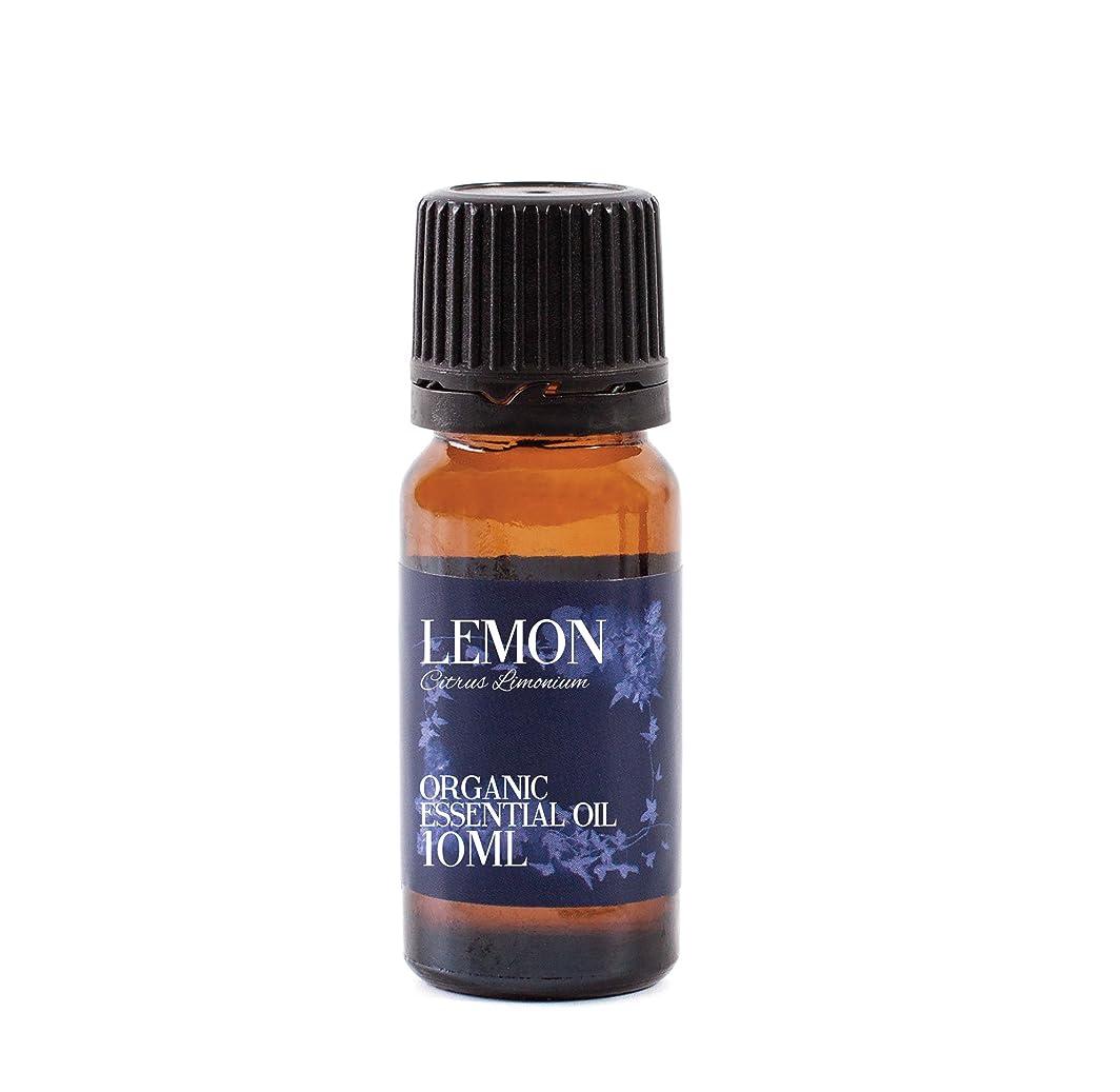 ホラー記念しおれたMystic Moments | Lemon Organic Essential Oil - 10ml - 100% Pure