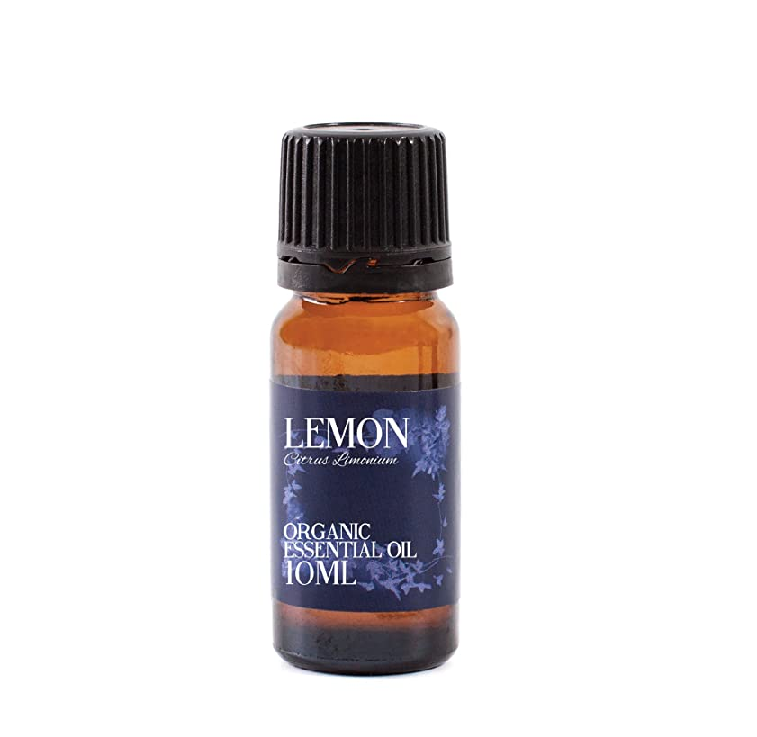 電球かすかなアジア人Mystic Moments | Lemon Organic Essential Oil - 10ml - 100% Pure