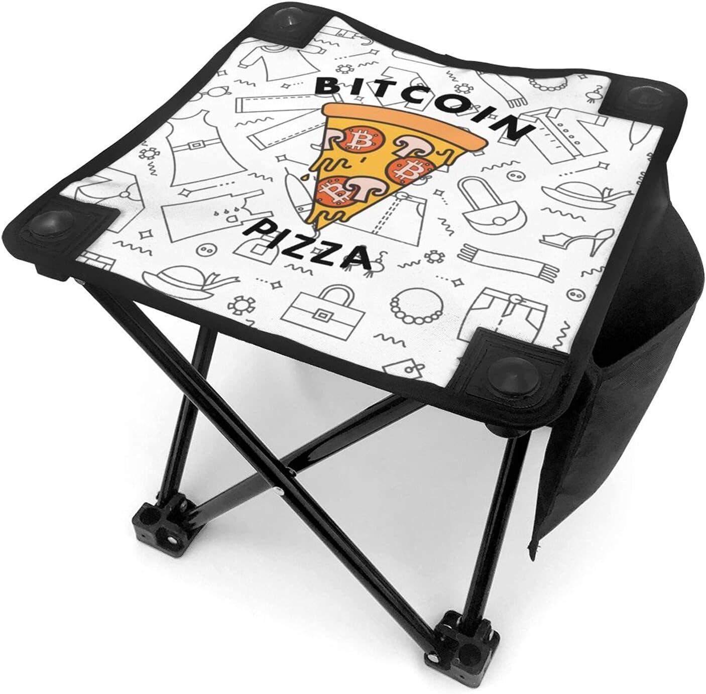 Pizza Cheap bargain Bitcoin Nippon regular agency Camping Stool Ultralight Fold Mini Portable Stools