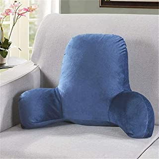 Respaldo de la Lectura de la Almohada con los Brazos, Peluche Grande Respaldo Almohada sofá Cama apoya el cojín Grande para o Sentado en la Cama para un Juego Relajante Leyendo y Viendo