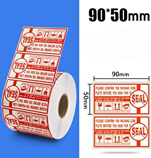 Seal Stickers 1 Roll 1000 Labels Shipping Labels Stickers 90mm x 50mm
