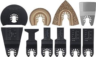 10pcs Universal Oscillating Multi-Tool Saw Blades Mix Blades Fit for Bosch Makita Milwaukee Oscillating Tools Accessories