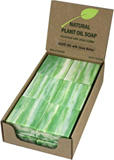 Olive Oil & Cocoa Butter Natural Soap (12 Bars)