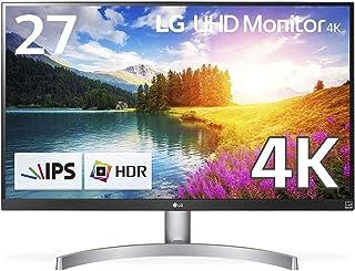 【Amazon.co.jp限定】LG モニター ディスプレイ 27UK600-W 27インチ/4K/HDR10対応(標準輝度:350cd/㎡)/IPS非光沢/HDMI×2、DisplayPort