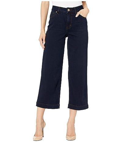 Jag Jeans Lydia Wide Leg Denim Crop in Celestial Blue (Celestial Blue) Women