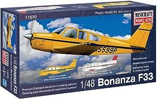 Minicraft Bonanza F-33 Airplane Model Kit (1/48 Scale)