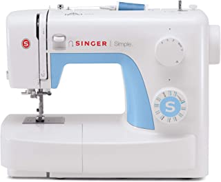 Singer 3221 Simple Sewing Machine with Automatic Needle Threader, 21 Stitches (Renewed)