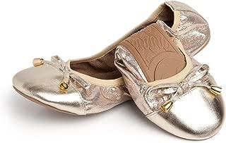 Womens Foldable Ballet Flats