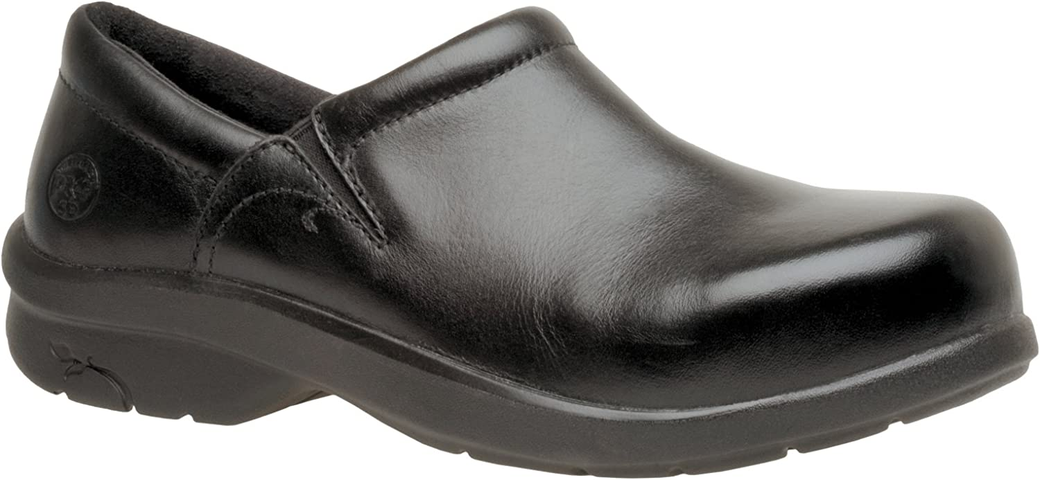Timberland womens Newbury Esd work and safety shoes, Black, 8.5 US