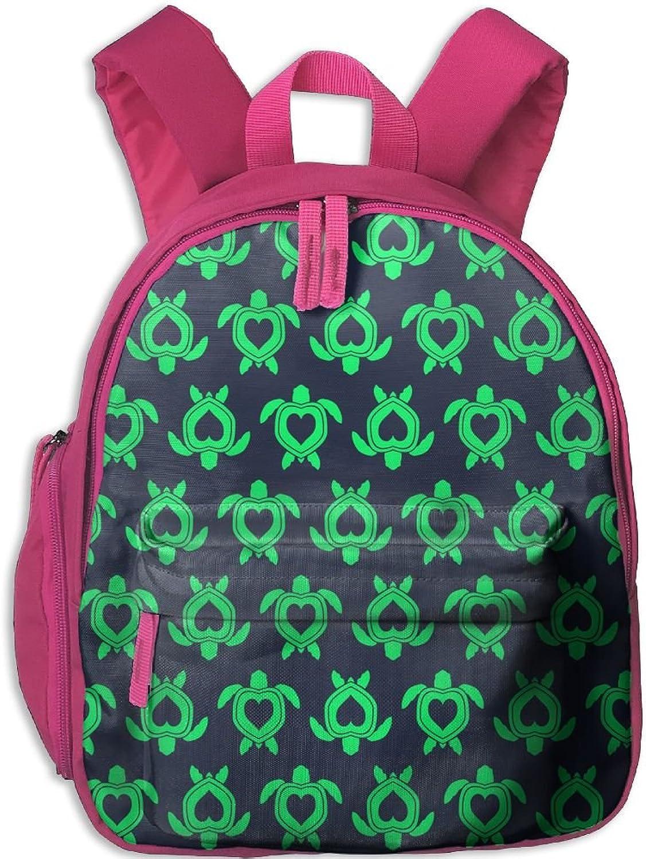 Pinta Tortoise Cub Cool School Book Bag Backpacks for Girl's Boy's