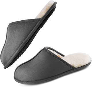 دمپایی مردانه-مموری - LordOFON دمپایی بسته انگشت پا دار دمپایی خانگی داخلی برای مردان کفش راحتی دمپایی اتاق خواب نرم و بدون لغزش