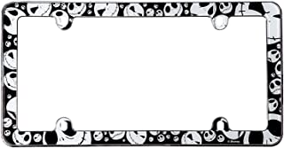 Infinity Stock Nightmare Before Christmas Jack Plastic License Plate Frame - Universal Fit 6.25