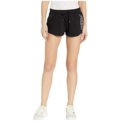 PUMA Out of This World Shorts (Cotton Black/White) Women