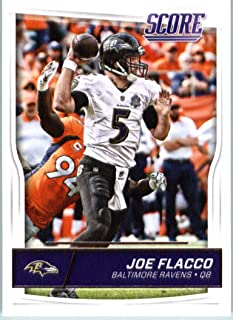 2016 Panini Score Football #22 Joe Flacco Baltimore Ravens