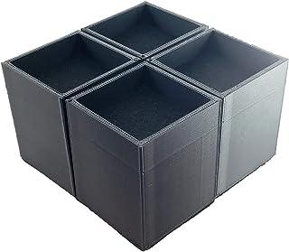テーブル・机・ベッドの高さをアップ ぴったり継脚 豊富なサイズバリエーション (60mm×60mm, 50mm)