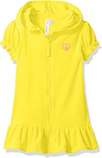 Toddler Girls' Hooded Terry Swim Cover Up
