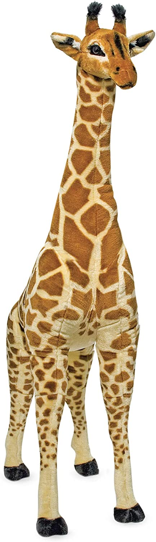 Free Shipping New Melissa Doug Giant Giraffe - Lifelike Stuffed New mail order Animal 4 f over