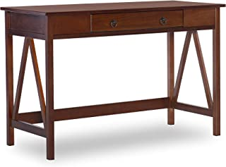 "Linon Home Dcor Linon Home Decor Antique Tobacco Titian, 45.98"" x 20"" x 30"" Desk,"