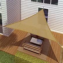 Shade Sails Idirectmart Triangle Sun, 11 Feet 5 inches Sand