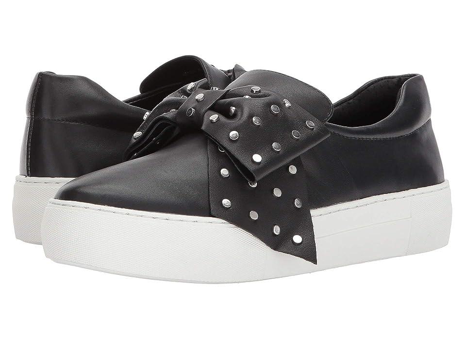 J/Slides Alive (Black Leather) Women