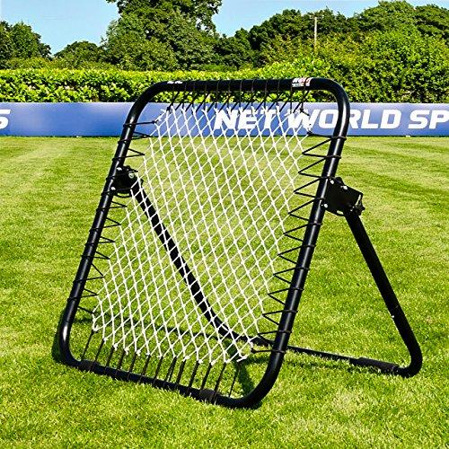 RapidFire Rebound-Netz – sprunghafter Fußball Rebounder – EIN- oder doppelseitig (Einseitig)