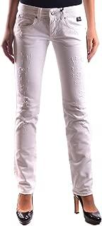 ROY ROGER'S Luxury Fashion Womens MCBI20275 White Jeans | Season Outlet