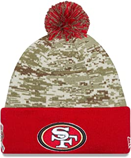 New Era San Francisco 49ers 2015 NFL Sideline Salute to Service Sport Knit Hat