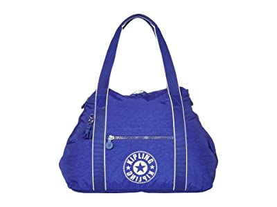 Kipling New Classics Art Medium Tote Bag (Laser Blue) Bags