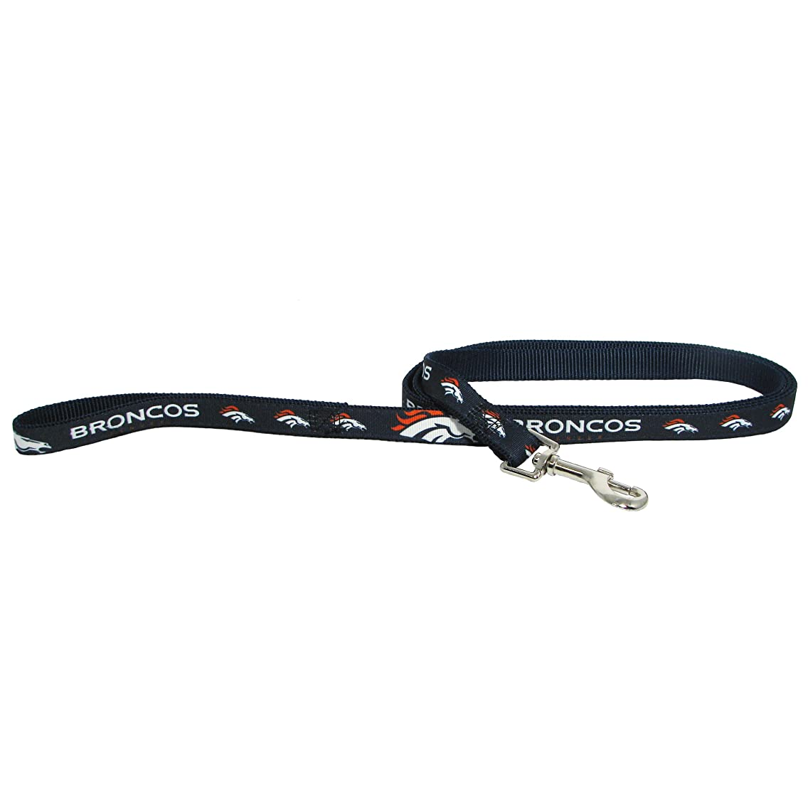 Denver Broncos Pet Dog Premium 6ft Nylon Leash Lead Licensed LARGE