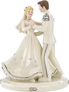 Lenox Classics Disney's Cinderella & Prince Platinum Cake Topper