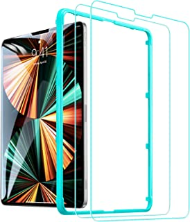 """ESR (2-Pack) Tempered Glass Screen Protector Compatible for iPad Air 4 2020 (10.9"""")/ iPad Pro 11 2021&2020&2018 (11 inch),..."""