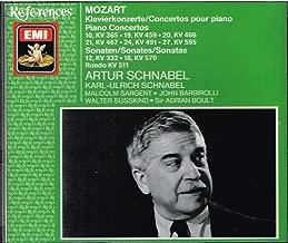 Mozart: Piano Concertos 10, 19, 20 , 21 , 24, 27/Sonatas 12, 16/Schnabel