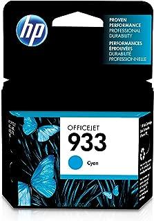 HP 933 | Ink Cartridge | Cyan | CN058AN