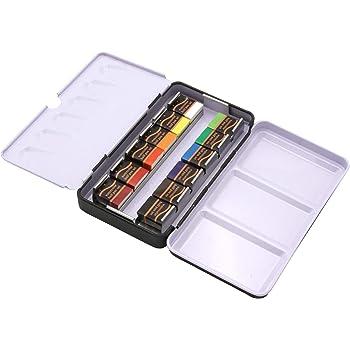 Paintersisters Artist Aquarell 12 colores - Set de Acuarelas en Medio Recipiente, Acuarela Caja de Pintura, Set de Color Profesional: Amazon.es: Hogar