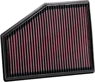 K&N Engine Air Filter: High Performance, Premium, Washable, Replacement Filter: Fits 2015-2020 BMW (740i, 518d, 520d, 520i, 525d, 530d, 530e, 530i, 540D, 540i, 620d, 630d,other select models), 33-3079