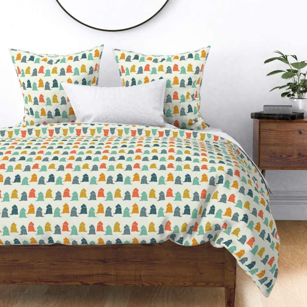 All items Complete Free Shipping in the store Roostery Duvet Cover Scottie Dogs Terrier C Scottish Color
