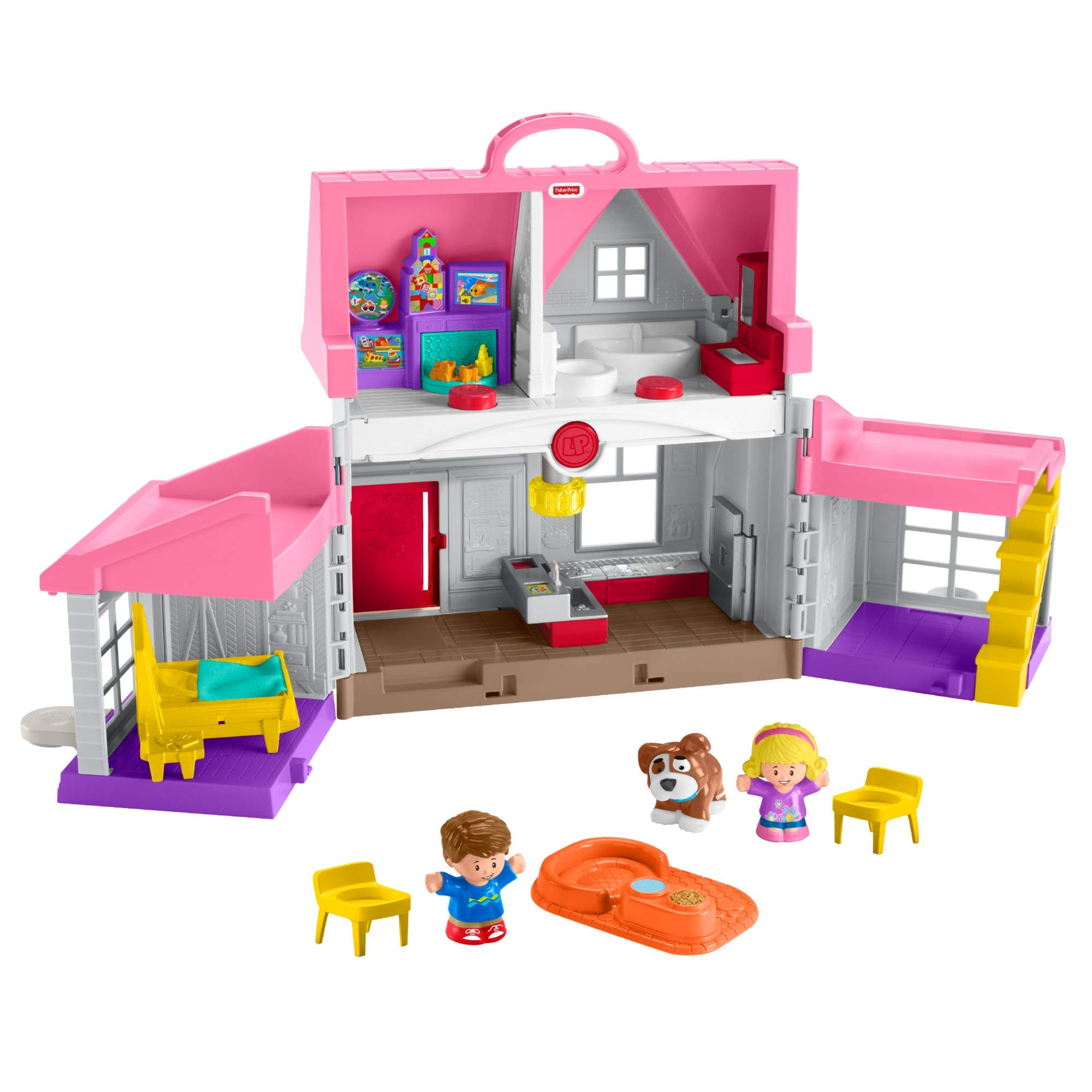 Fisher Price Little People Helpers Home