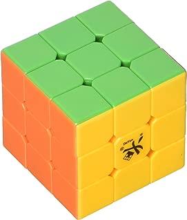 DaYan 3x3x3 Zhanchi Stickerless Speed Cube Puzzle, Black, 57mm