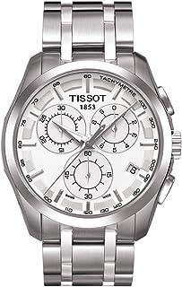 تيسوت ساعة رسمية رجال انالوج بعقارب ستانلس ستيل - T035.617.11.031.00