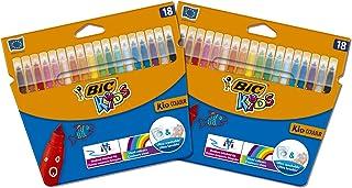 BIC 962702 Couleur Felt Tip Colouring Pen - Multi-Colour
