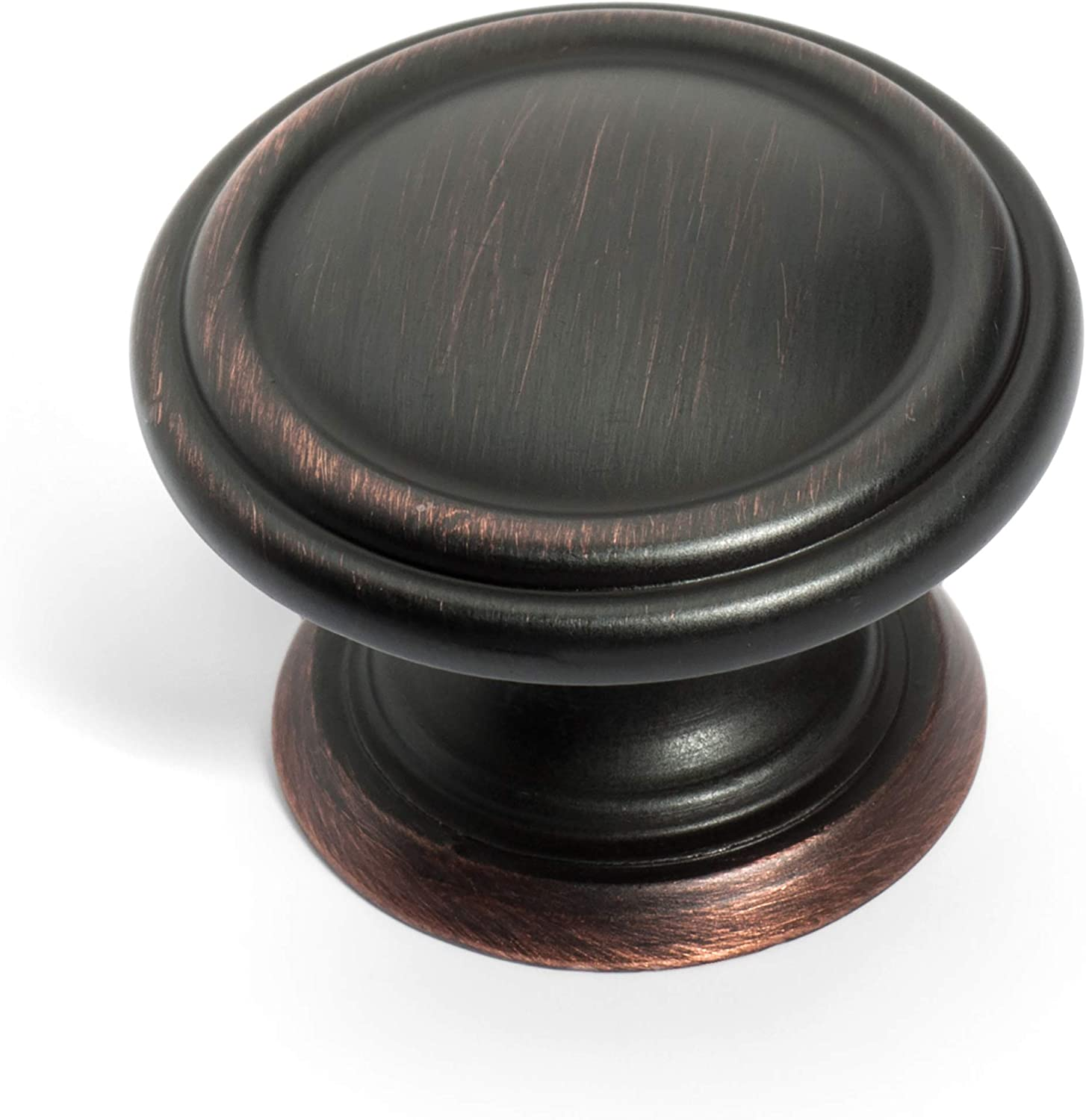 Dynasty Hardware K-8038-S-12P Two Cabinet Knob Max 79% OFF Ve Limited Special Price Ring