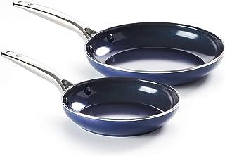 Blue Diamond Pan 9.5''& 11'', 2pk Frypan