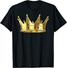 King Crown Royalty Prince Boys Mens Birthday Gift T Shirt
