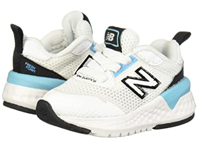 New Balance Kids 515 Sport (Infant/Toddler) (White/Bayside) Boys Shoes