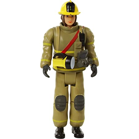 Action People Set Pretend Play for Kids and Toddlers Beverly Hills Doll Collection Sweet Li/'l Family Firefighter Dollhouse Figure