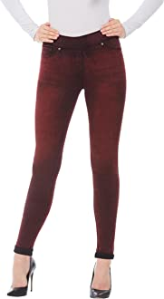 Plus LUXE DENIM SLIMS Skinny Ankle Jeans with Snaps