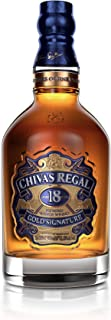 Chivas Regal 18 Jahre Gold Signature Blended Scotch Whisky / Blend Whisky mit Single Malt Whiskys und Grain Whiskys / 1 x 0,7 L
